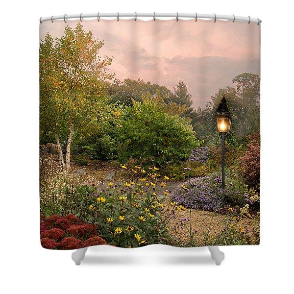 Garden Whispers Shower Curtain