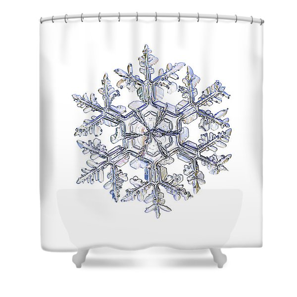 Gardener's Dream, White Version Shower Curtain