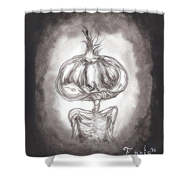 Garlic Boy Shower Curtain