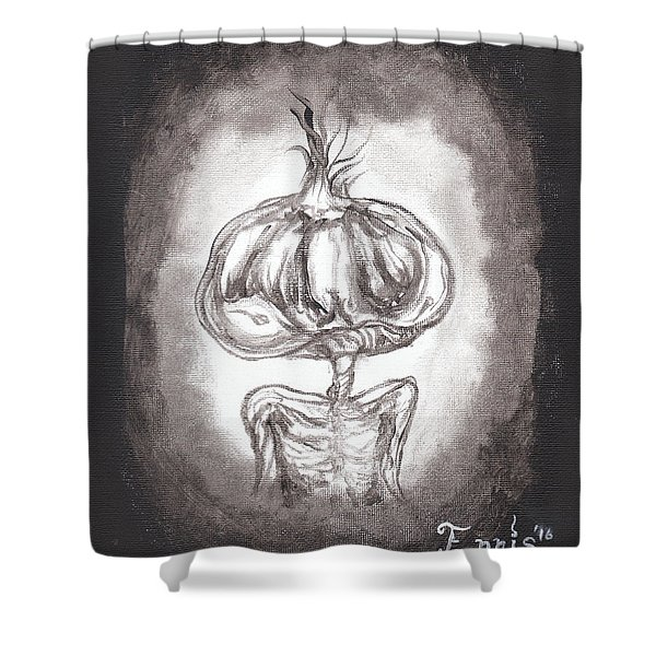 Garlic Boy Shower Curtain