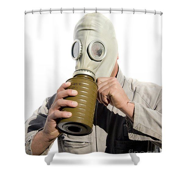 Gas Gasp Shower Curtain