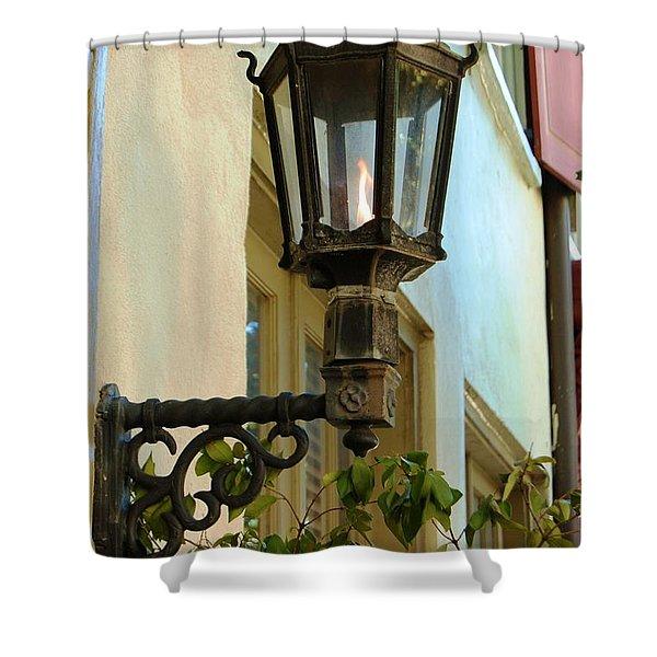 Gas Lite Shower Curtain