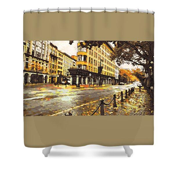 Gastown Shower Curtain