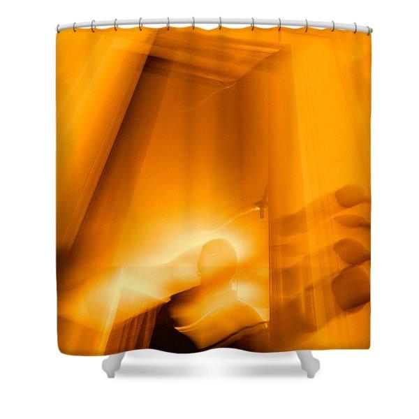 Gate Of The Golden Bass Shower Curtain