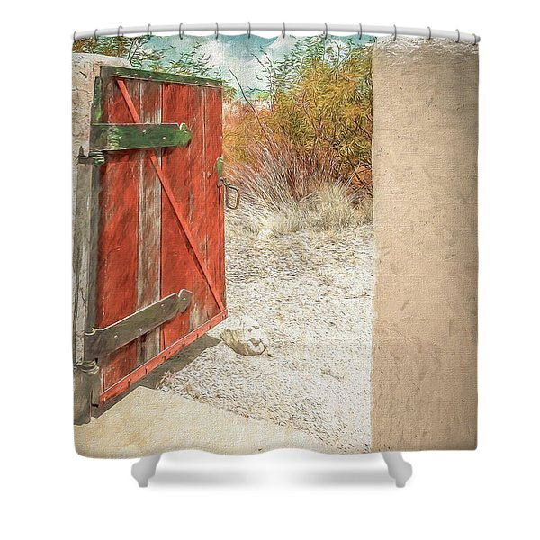Gate To Oracle Shower Curtain