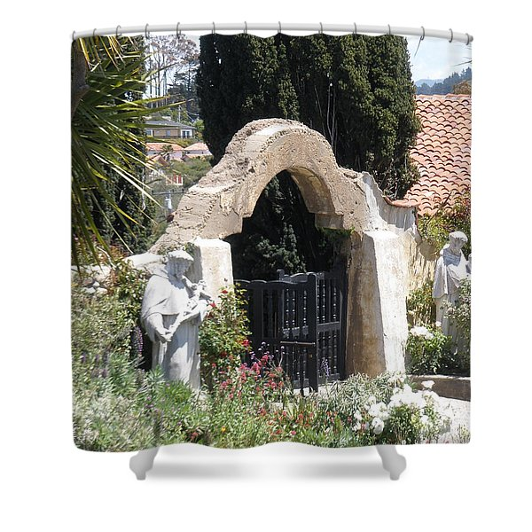 Gate Way To Heaven Shower Curtain