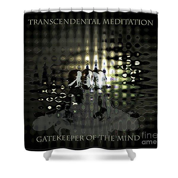 Gatekeeper Of The Mind Shower Curtain