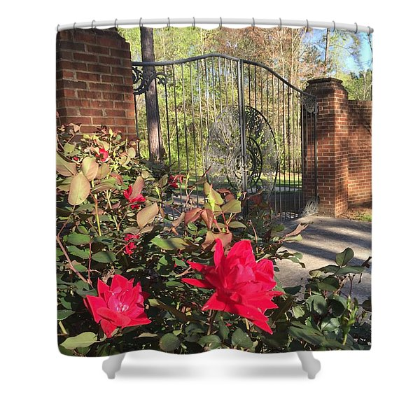 Gates Of Heaven Shower Curtain
