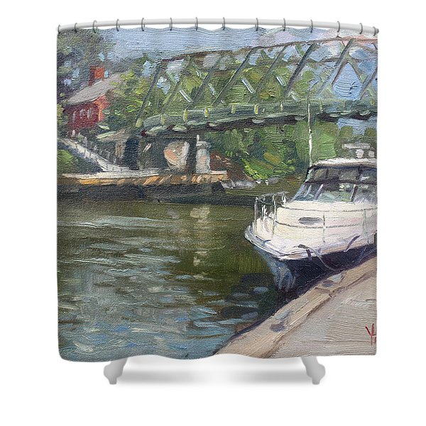 Gateway Harbor Park Shower Curtain