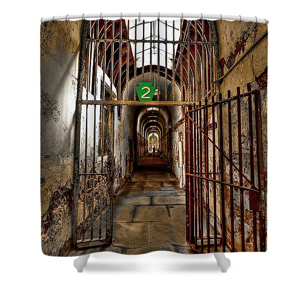 Gateway To Hell Shower Curtain