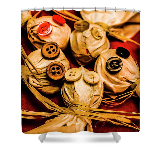 Gathering Of Ghosts Shower Curtain