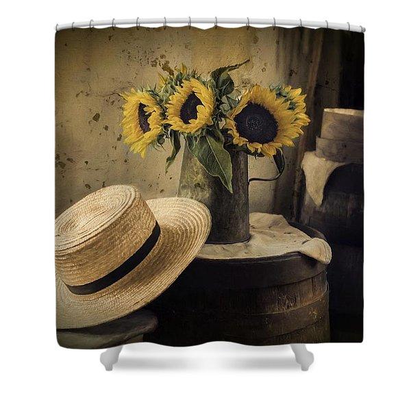 Gathering Sunshine Shower Curtain