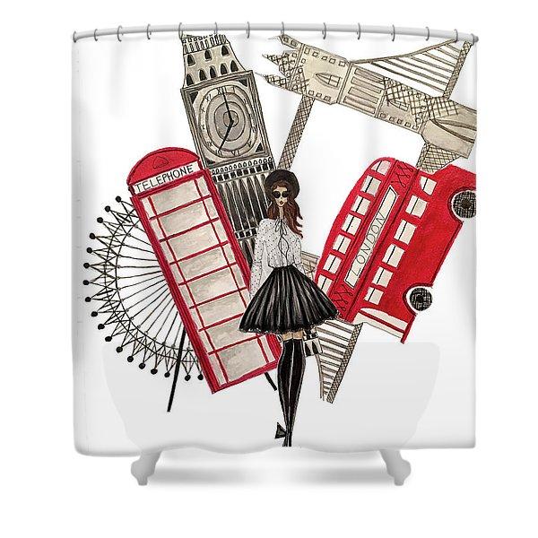 Gavi Leveaux In London Shower Curtain