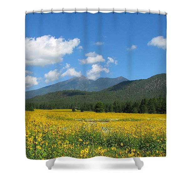 Gazing Serene Shower Curtain