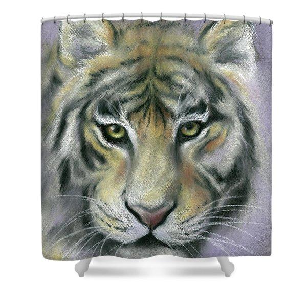 Gazing Tiger Shower Curtain