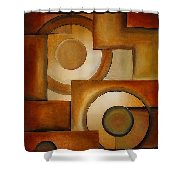 Gear Up Shower Curtain