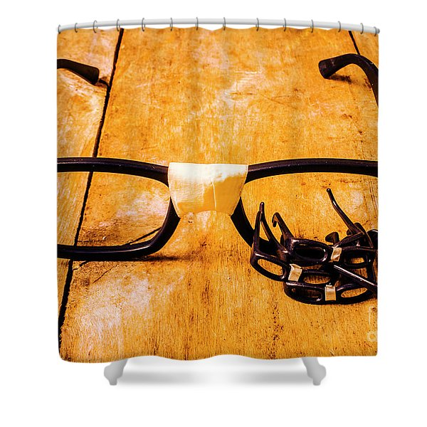 Geeky Tech Factory Shower Curtain