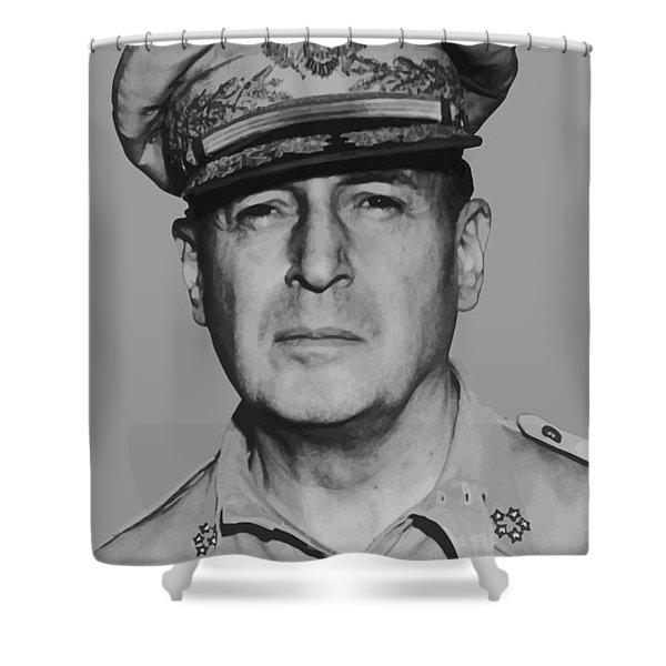 General Douglas Macarthur Shower Curtain