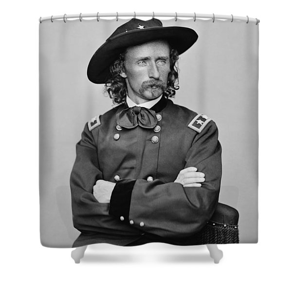 General George Armstrong Custer Shower Curtain