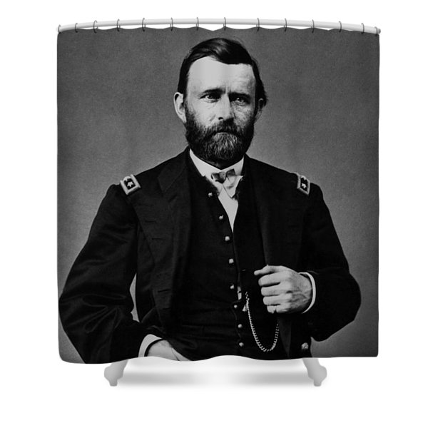 General Grant During The Civil War Shower Curtain