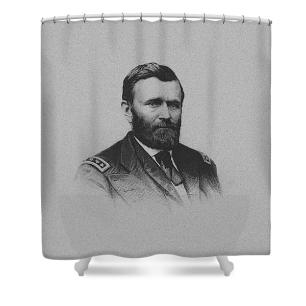 General Ulysses Grant And His Signature Shower Curtain