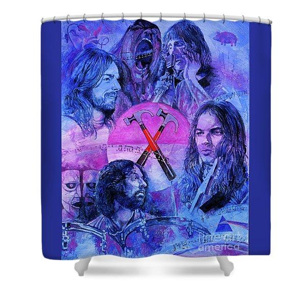Generation Floyd Shower Curtain