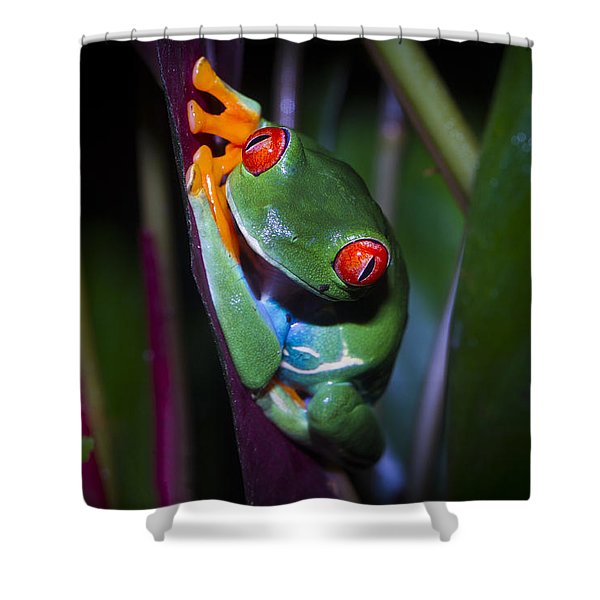 Generously Green Shower Curtain
