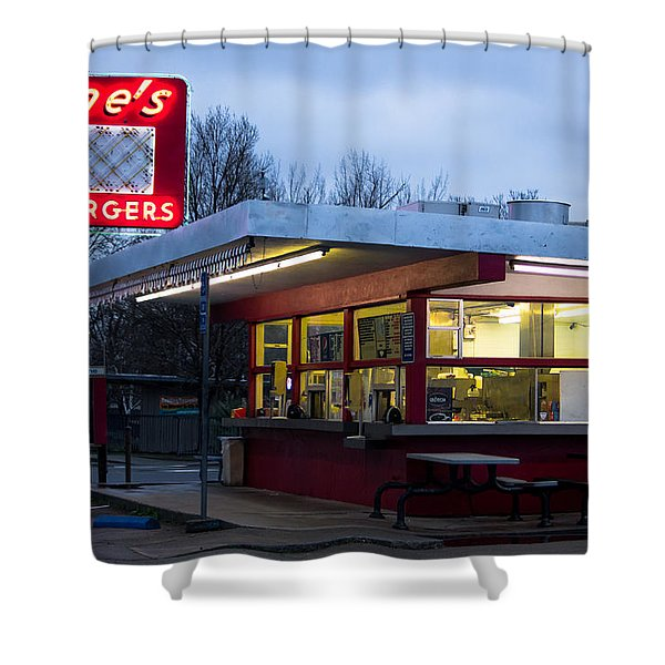 Gene's Drive In Shower Curtain