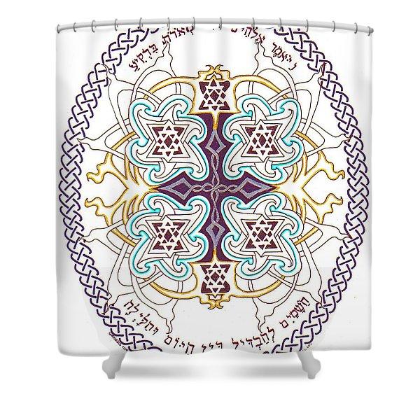 Genesis 1 14 Shower Curtain