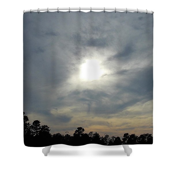 Genesis On The Seventh Day Shower Curtain