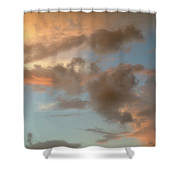 Gentle Clouds Gentle Light Shower Curtain
