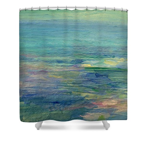 Gentle Light On The Water Shower Curtain