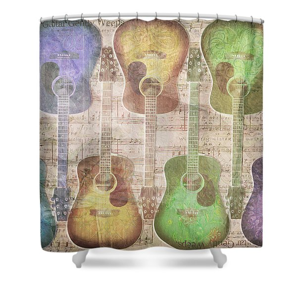 Gently Weeping Shower Curtain
