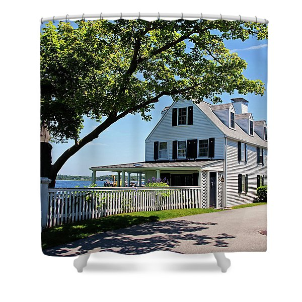 George Walton House In Newcastle Shower Curtain