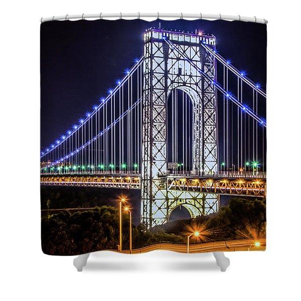 George Washington Bridge - Memorial Day 2013 Shower Curtain