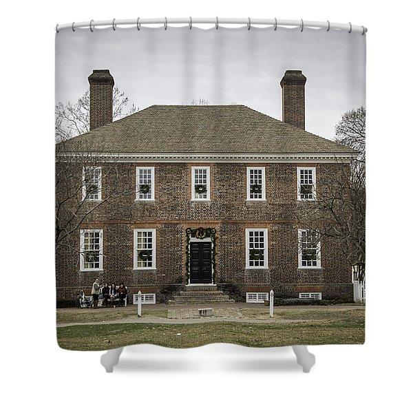 George Wythe House Williamsburg 2014 Shower Curtain
