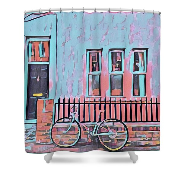 Georgetown Cycle Shower Curtain