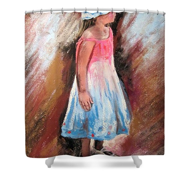 Georgia No. 1. Shower Curtain