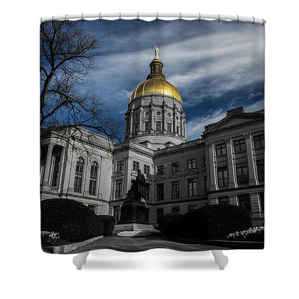 Georgia State Capital Shower Curtain