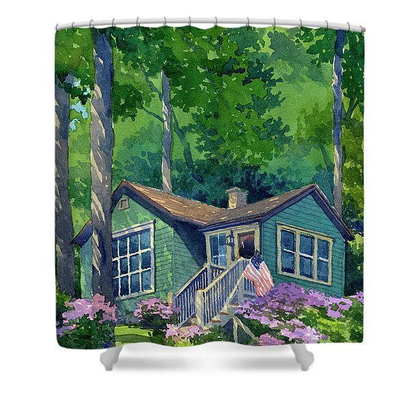 Georgia Townsend House Shower Curtain