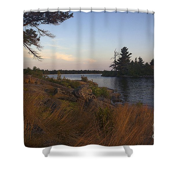 Georgian Bay Sunrise-4300 Shower Curtain