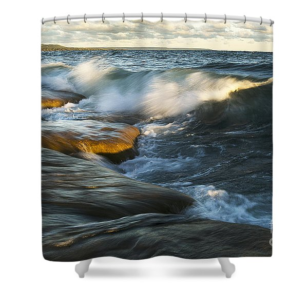 Georgian Bay Sunrise Shower Curtain