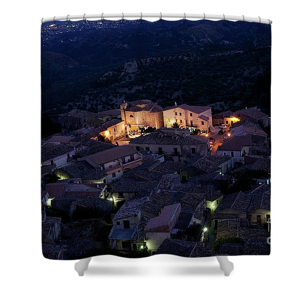 Italy, Calabria,gerace Shower Curtain