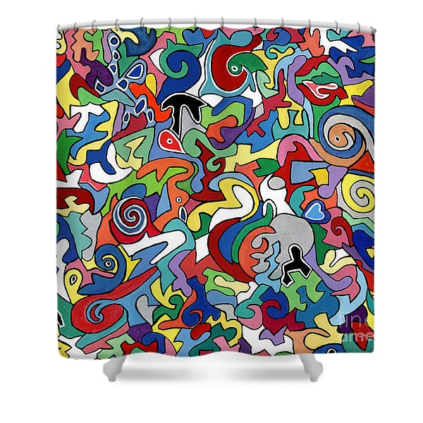 Gerard Gahan Gone Too Soon Shower Curtain