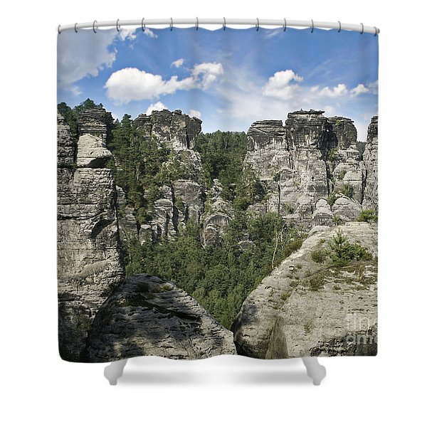 Germany Landscape Shower Curtain