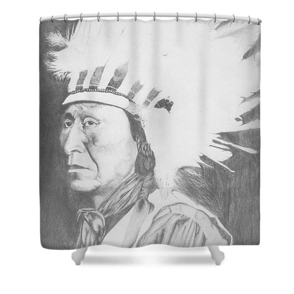 Geronimo Shower Curtain