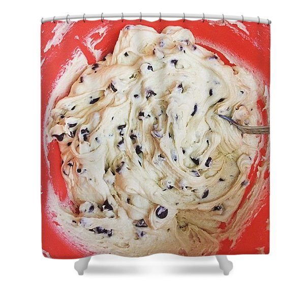 Cookie Dough Shower Curtain