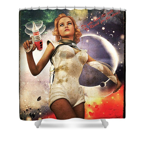 Get In The Fight Shower Curtain