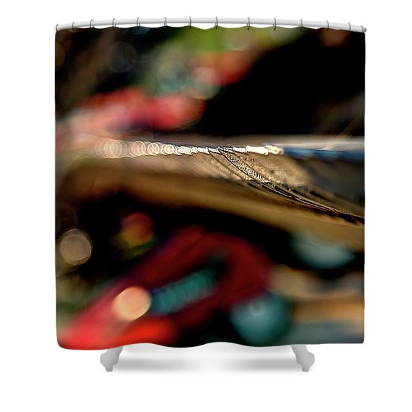 Get To The Point 6734 Shower Curtain