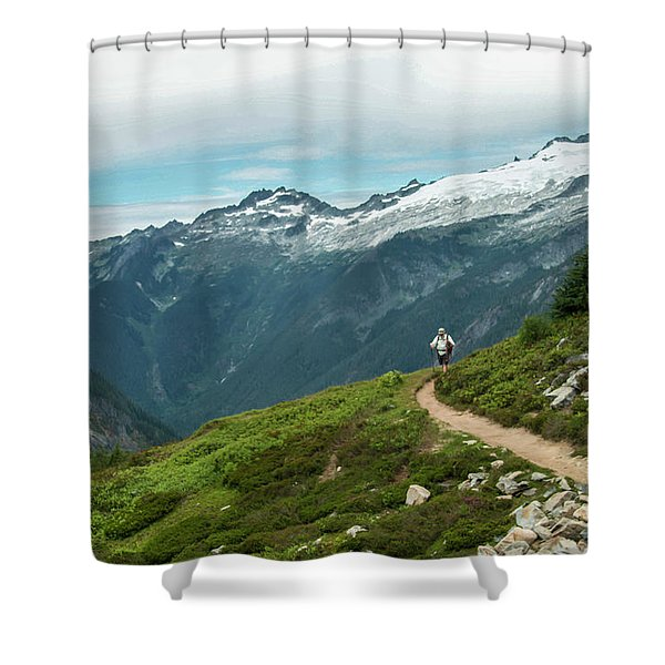 Getting Better All The Time.... Shower Curtain